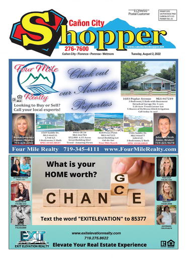 View the latest edition of the Cañon City Shopper
